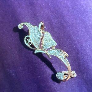 Jewelry - Butterfly side of ear clip on.....
